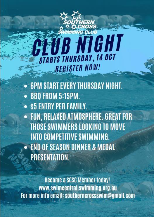 Club Night Poster 2021 Wk1