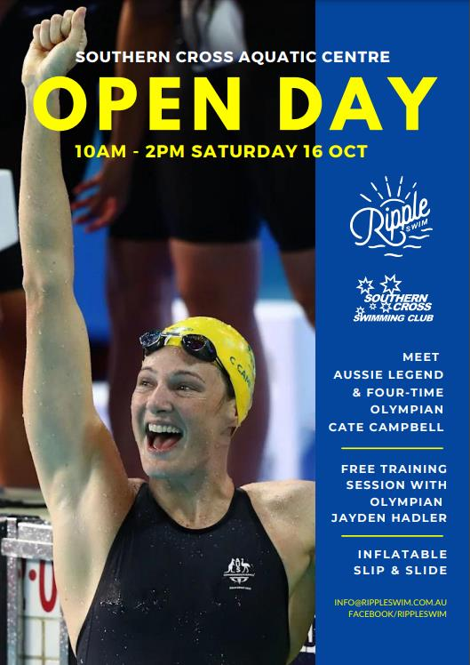 Open Day 2021 Cate Campbell